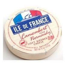 Authentic Ile De France Imported Camembert Cheese, 8 Ounce -- 6 per case., ,