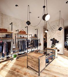 Amamos falar sobre o visual merchandising trabalhado em lojas incríveis e hoje vamos conhecer o interior de uma loja italiana , Get Store Uomo, uma marca no segmento masculino, que junto com o AMla…