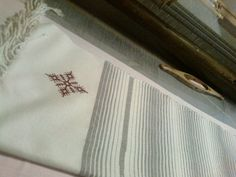 scarf 61cm/189cm cotton100% in rid.tissag