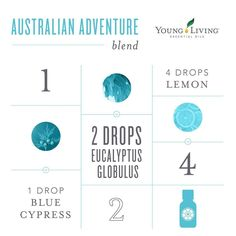 Australian Adventure Diffuser Blend featuring Blue Cypress, Eucalyptus Globulus and Lemon Young Living Essential Oils. Having trouble getting your Blue Cypress to drop from the bottle? Check out my YouTube video for tips on how to get thicker oils to drop from the bottles! Young Living Member ID # 2475812 / Frankincense 4 Ever, LLC / Chrissy Kihm
