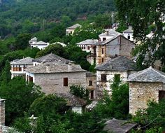 Village in Pelion Wonderful Places, Beautiful Places, Amazing Places, Ancient Greek Theatre, Places In Greece, Ancient Ruins, Thessaloniki, Greek Islands, The Good Place