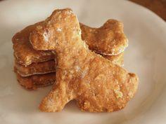 Homemade Peanut Butter Dog Treats!