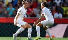 Lucy Bronze, left, believes England have made significant improvements since their 1-0 defeat by Canada in a pre-World Cup warm-up clash.