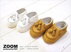 【楽天市場】ZOOM(ズーム)Baby Tussel(12.0-13.5)ベビーシューズ キッズ 本革 靴 タッセル 12.0cm・12.5cm・13.0cm・13.5cm・ シロ キャメル【楽ギフ_包装】:DRoom