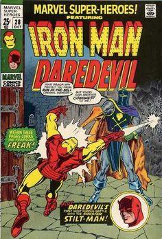Marvel Super-Heroes #28 - The Stilt-Man Cometh (Issue)