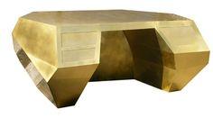 Brass Suprematist Desk image 2