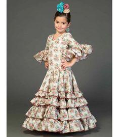 Traje de sevillana Amapola Niña Estampado Flamenco Costume, Spanish Dress, Costumes Around The World, Sewing Clothes, Kids Wear, Toddler Girl, Kids Fashion, Halloween Costumes, Girl Outfits