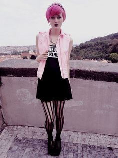 Pastel Goth.