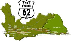 I've always wanted to do Route The challenge will be choosing what to leave out Western Cape - South Africa. South Afrika, Knysna, Port Elizabeth, Road Trippin, West Africa, Africa Travel, Cape Town, Map, Prince