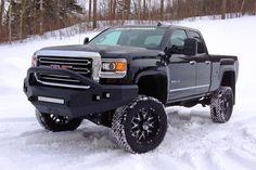 gm_2500_15k_65in Sierra lifted Truck Blac