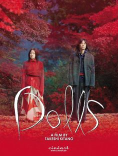 """Watched this during a film festival. Wat a vibrant film. """"Dolls"""" - Takeshi Kitano - 2002 - Japan Costume by Yohji Yamamoto Best Movies List, Movie List, Good Movies, Takeshi Kitano, Ang Lee, Film School, Romance Movies, Film Posters, Film Movie"""