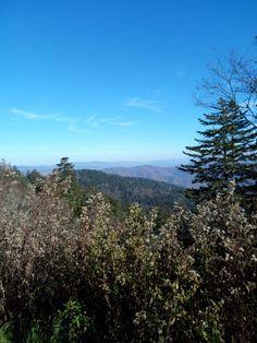 Mountain View near Clingman Dome Smokey Mountains, Tennessee