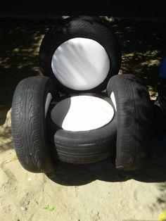 Poltrona de pneu