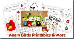 Angry Birds Theme Collection {ideas and printables}