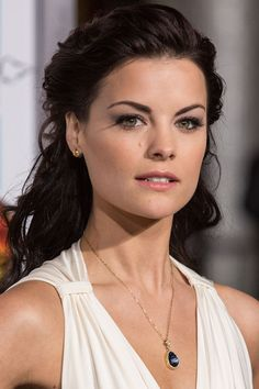 Jaimie Alexander's formal pony (Blindspot, Thor, Agents of SHIELD). Follow our board for more: https://www.pinterest.com/follow/stylebistro/