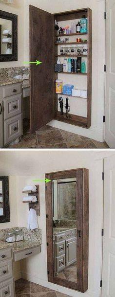 Поделки из паллет в деревенском стиле для ванной комнаты