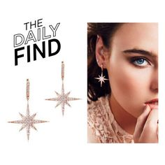 """The Daily Find: Wild Hearts Earrings"" by polyvore-editorial ❤ liked on Polyvore featuring DailyFind"