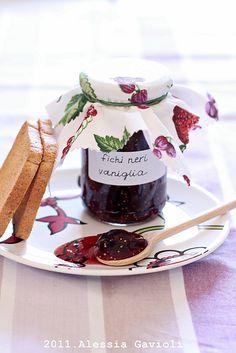 Marmellata di fichi neri & vaniglia