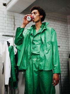 Youth and pop culture provocateurs since Fearless fashion, music, art, film, politics and ideas from today's bleeding edge. Craig Green, Declaration Of Independence, Ss16, Pop Culture, Rain Jacket, Windbreaker, Raincoat, Menswear, Fashion Outfits