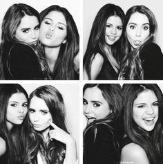 Lily collins & Selena Gomez