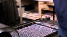 Letterpress printing has not dead yet. Robert Giles is proud to be the third generation letterpress printer. Giles followed his grandfather and father's foot...