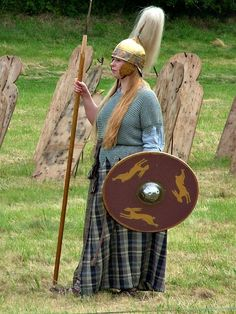 Celtic War Woman