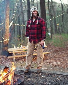 The real scent to the man outdoors #WhiskyOrigin #men #happy #outdoor #winter #smile