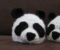 Free Crochet Panda Hat Pattern