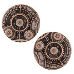 Amazon.com: Metal Button 7/8'' Mechanism Copper By The Package: Arts, Crafts & Sewing