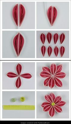243 Best Quilling 6 Images Paper Flowers Papercraft Quilling