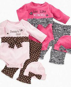 Baby Essentials Baby Set, Baby Girls Set - Kids Baby Girl (0-24 months) - Macy's