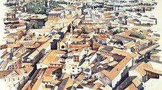 View over Bologna.