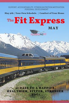 click on image to see what it's all about. Join us for May's edition of the online Fit group of the Fit Express.