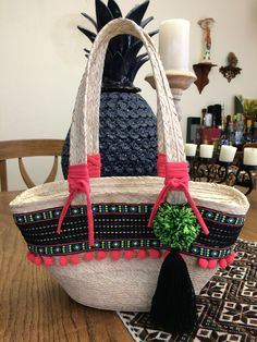 Lace Bag, Boho Bags, Beach Bags, Knitted Bags, Crochet Gifts, Handmade Crafts, Clutch Bag, Straw Bag, Crocheting