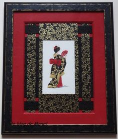 African Themed Picture Frames No Mistaking These