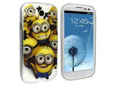 Silikónový kryt (obal) pre Samsung Galaxy S3 - mimoni (Minions Despicable me)
