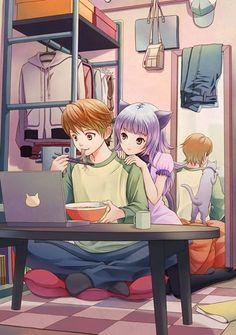 #anime #animegirl #otaku #nekomimi
