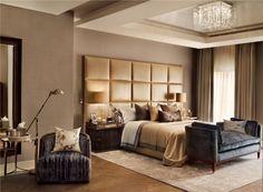 10 Katharine Pooley's Bedroom Designs You Have to Know #modernsofas #sofaforbedroom #bedroomsofa