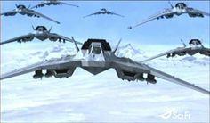 Stargate SG1. Prometheus and the X302's