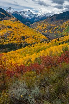 Capitol Peak near Aspen, Colorado; photo by Andy Cook