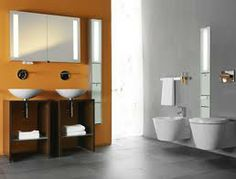 back painted glass bathroom walls - Google Search