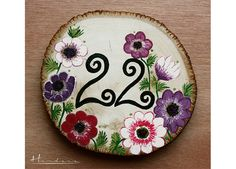 numar_masa_22_2 Wedding Table Numbers, Decorative Plates, Tableware, Painting, Home Decor, Table Numbers, Dinnerware, Decoration Home, Room Decor