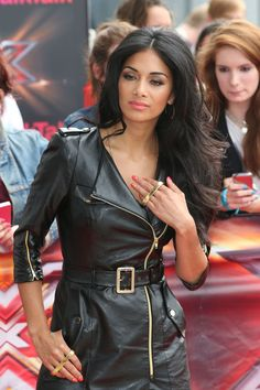"""Nicole Scherzinger Photos - Nicole Scherzinger seen at a photo call for series of """"The X Factor"""" in London. The series will return to TV this summer. - Nicole Scherzinger Photos - 2647 of 7078 Nicole Scherzinger, Leder Outfits, Lauren London, Leather Dresses, Leather Fashion, Steampunk Fashion, Gothic Fashion, Lady, Celebrity Style"""
