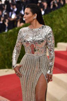 Kim wore Balmain to the MET Gala 2016