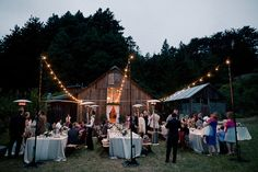 I love the outdoor, rustic feel. Can we achieve this in a tent?