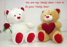 Happy Teddy Bear Day Teddy Bears For Valentines Day: Hey guys Today is Happy teddy Day. And we wish you a very Happy Teddy day. Its 10 February today Teddy Day Images, Teddy Bear Pictures, Happy Teddy Bear Day, Cute Teddy Bears, Holiday Gift Guide, Holiday Gifts, Feel Better Gifts, Reindeer Craft, Snowmen