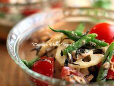 蓮根とトマトのツナマヨひじき♪和サラダの画像