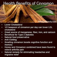 As well as lowering blood sugar levels after eating, #cinnamon can slow down the emptying of the  stomach