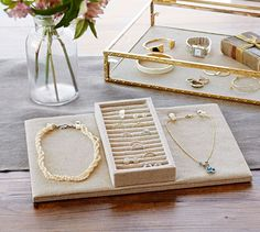 Antique Gold Jewelry Boxes | Pottery Barn
