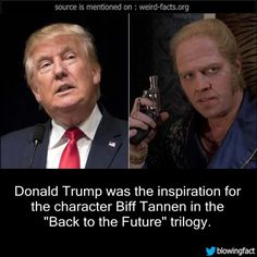 Donald Trump was the inspiration for the character... - Mind ...